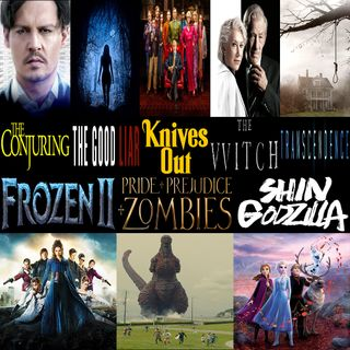Week 140: (Frozen II (2019), Knives Out (2019), The Good Liar (2019), Shin Godzilla (2016), Pride and Prejudice and Zombies (2016), The Witc