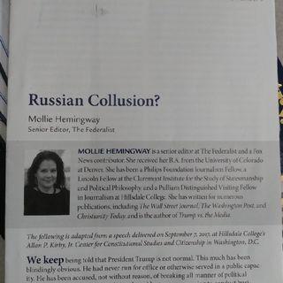 Russian Collusion? Part 4