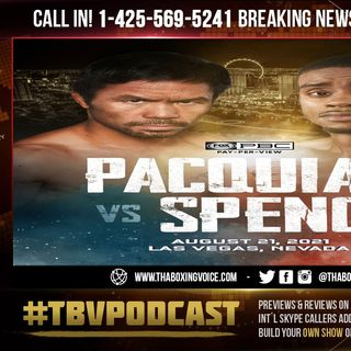☎️BREAKING NEWS: Manny Pacquiao vs Errol Spence Jr😱PACMAN Announced Fight🔥Poor Crawford😢