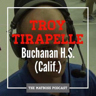 Buchanan High School (Calif.) head coach Troy Tirapelle