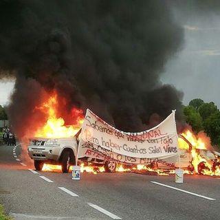 Bloqueos en Tabasco, en rechazo a la GN