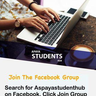 Welcoming Aspayastudenthub Facebook Group Members
