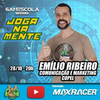 O poder da comunicação! Emílio Ribeiro (comunicação e marketing da Copel) - Joga Na Mente
