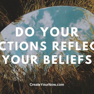 1646 Do Your Actions Reflect Your Beliefs?