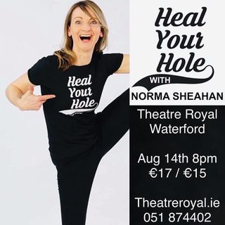 Norma Sheahan and her show heal your hole