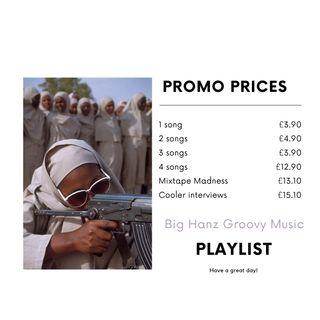 Big Hanz Groovy Music Promo.