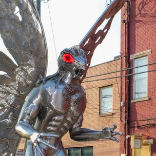 Episode 58 A Fierce Dan, the Mothman and the Butterfly People