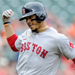 Mookie Betts Picks Up Where He Left Off For Red Sox