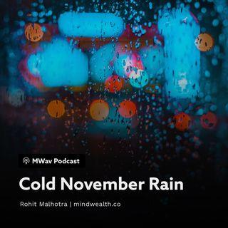 Cold November Rain - Career Change