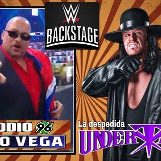 Despedida del Undertaker- Savio Vega backstage en Survivor Series 2020 -Ep 96 de La Vuelta