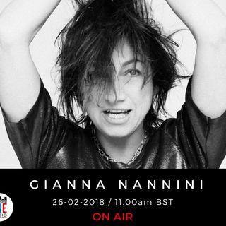 """Gianna Nannini e il suo AMORE GIGANTE :"""" INONDIAMO IL MONDO DI COLORI, INONDIAMO IL MONDO DI CANZONI"""""""