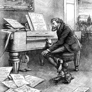 Una musica può fare - Cafe Bleu intervista Vincenzo Alastra sul pianoforte nell'atrio dell'ospedale di Biella