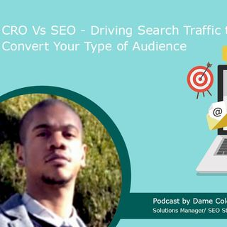 CRO Vs SEO - Driving Search Traffic to Convert Your Type of Audience