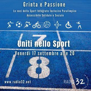 Uniti nello sport - Grinta e passione del 17 settembre 2021