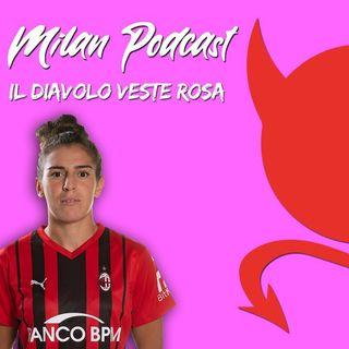 """ESCLUSIVA Valentina Bergamaschi a Radio Rossonera: """"Con la Roma ottimo finale. Theo un'ispirazione, ecco il mio ruolo preferito"""""""