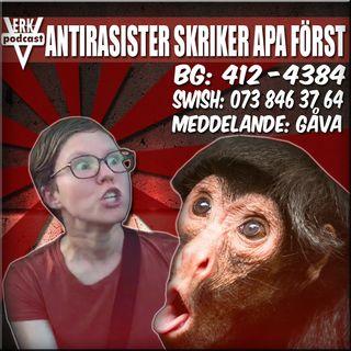 ANTIRASISTER SKRIKER APA FÖRST
