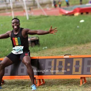 Ferdinand Omanlaya - Kenyan, African New Record Holder