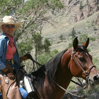 Chief Joseph Trail Ride - Christy Wood, Steve Taylor, Andy Shaw & Ervin Gross on Big Blend Radio