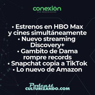 Conexión: Conoce las novedades que nos trae esta semana HBO Max, Netflix, Disney+ y Amazon