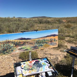 Big Blend Radio: Artist Patricia Cummins & Lorenzo Vigil - Fort Union National Monument