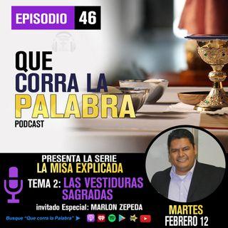 QCLP LA MISA 2.VESTIDURAS SAGRADAS