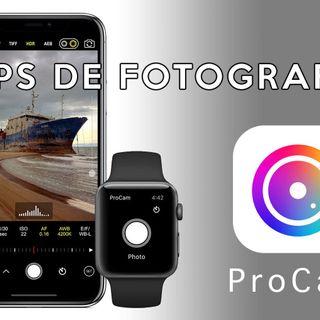 5: Apps para Fotografía. PROCAM