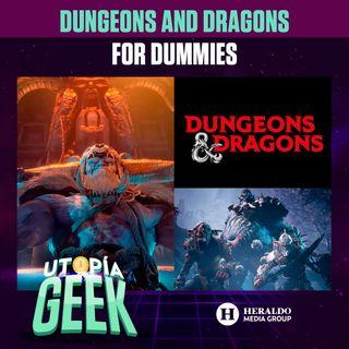 Dungeons and Dragons for dummies: Lo que debes saber sobre este juego de mesa | Utopía Geek: Videojuegos y cómics