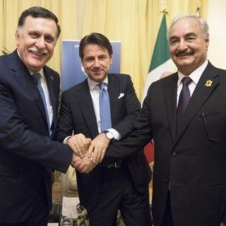 """Conferenza Italia Libia: """"Italia, vada avanti lei"""""""