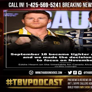 ☎️Eddy Reynoso on Canelo Alvarez's Next Fight: Could Be Plant, It Could Be Bivol, It Could Be GGG🤑