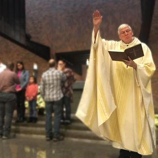 Father Tom reflects on second reading of Easter 2020 celebration