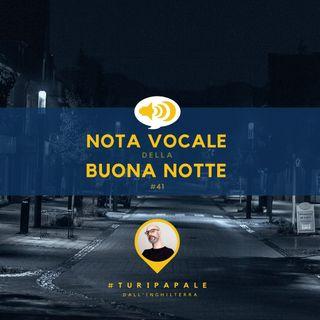 #41 A cosa serve veramente la domenica?  Nota vocale della Buona notte di Turi Papale