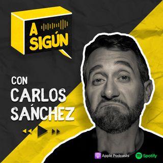 A Sigún con Carlos Sánchez