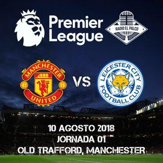 Manchester United vs Leicester City en VIVO