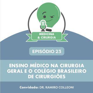 23 - Ensino médico na cirurgia geral e o Colégio Brasileiro de Cirurgiões
