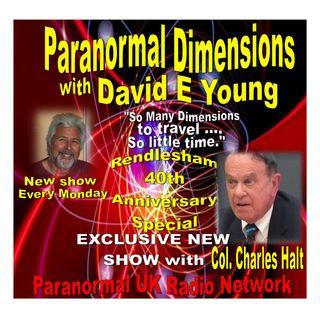 Paranormal Dimensions - Col. Charles Halt