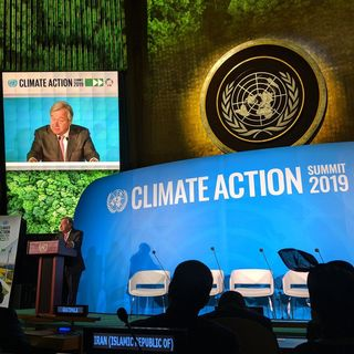 ONU realiza cumbre sobre cambio climático