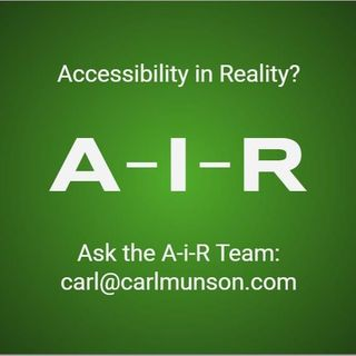 Ask The A-i-R Team: About Labels, Disability, Autism, Accessibility & Consultation