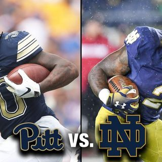 Irish Football Weekly W/Tony Hunter: Notre dame-Pittsburgh Preview