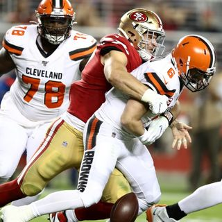 TGT NFL Show: 49ers dominate the Browns, are the Niners a Super Bowl contender? Throwback football beats Madden Football and much more