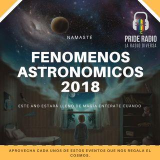 Fenomenos Astronómicos  2018 Enterate!!
