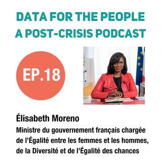 Ministre du gouvernement français, Élisabeth Moreno