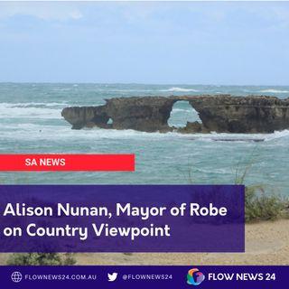 Alison Nunan, Mayor of Robe, SA on tourism, internet and more