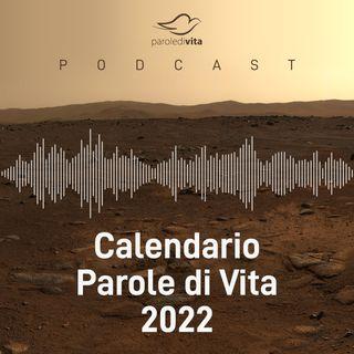 Calendario Parole di Vita 2022 • Intro