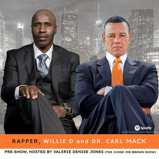 ARE YOU READY TO RUMBLE?  rapper, WILLIE D and DR. CARL MACK talk REPARATIONS, JUNETEENTH, JUDGE JOE BROWN and SOCIAL MEDIA FEUDS