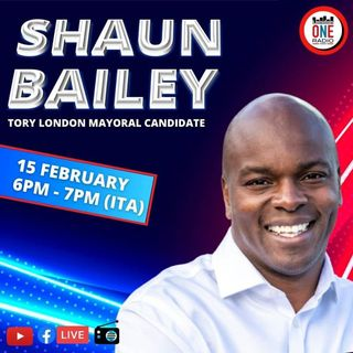 Shaun Bailey, (Tory) London mayoral candidate, about London's future