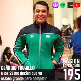Claudio Trujillo: A los 23 me decían que ya estaba grande para competir