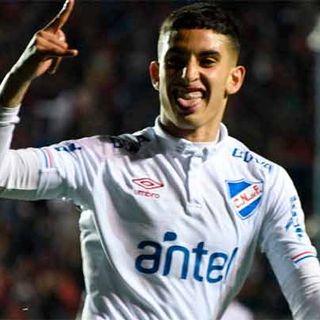Gol de Nacional: Santiago Rodríguez 2-3