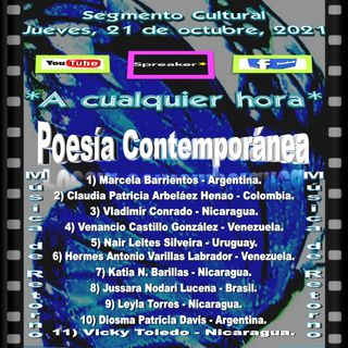 Poesía Contemporánea + Música de Retorno