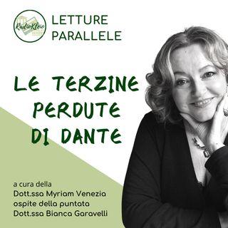 Letture Parallele: Le Terzine Perdute Di Dante
