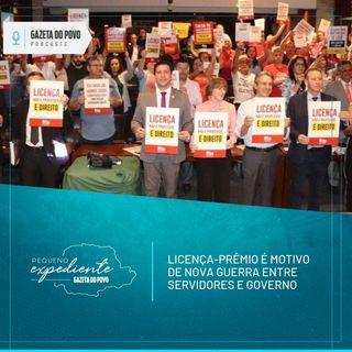 Pequeno Expediente #88: a queda de braço pelo fim da licença-prêmio no Paraná